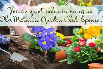 Sponsorship | Old Metairie Garden Club