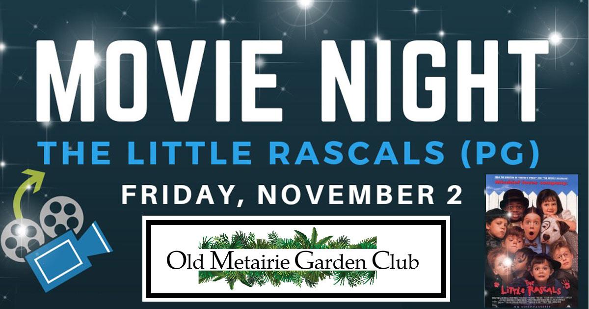 Movie Night Header   Old Metairie Garden Club