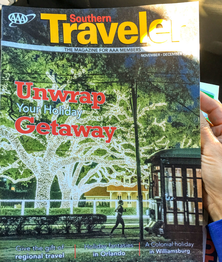 Travel Magazine Features OMGC's Reveillon On The Ridge | Old Metairie Garden Club