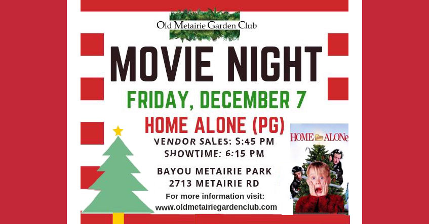 Movie Night – Friday, December 7