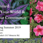 Old Metairie Garden Club Meeting Flyer Summer 2019