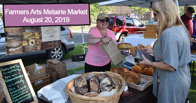 Farmers Arts Metairie Market August 20 2019 |  Old Metairie Garden Club